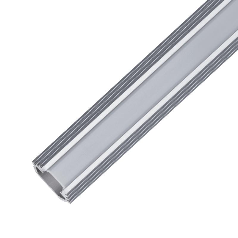 ΠΡΟΦΙΛ ΑΛΟΥΜΙΝΙΟΥ ΓΙΑ ΤΑΙΝΙΑ LED ELM9012/2-2000 Al ANGLE PROFILE MATT REFLECTOR, 2M
