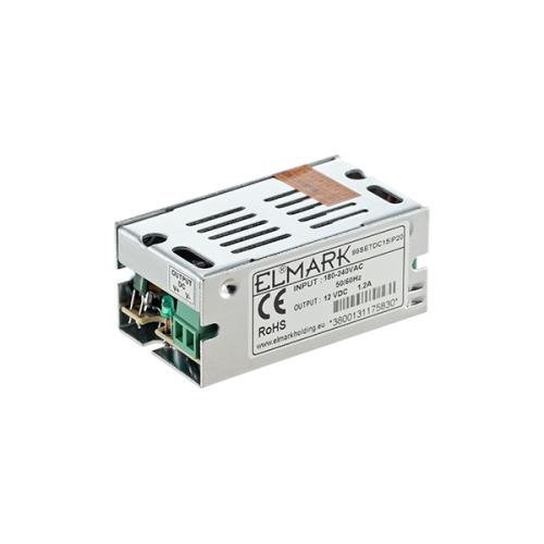 ΤΡΟΦΟΔΟΤΙΚΟ LED 15W 230VAC/12VDC