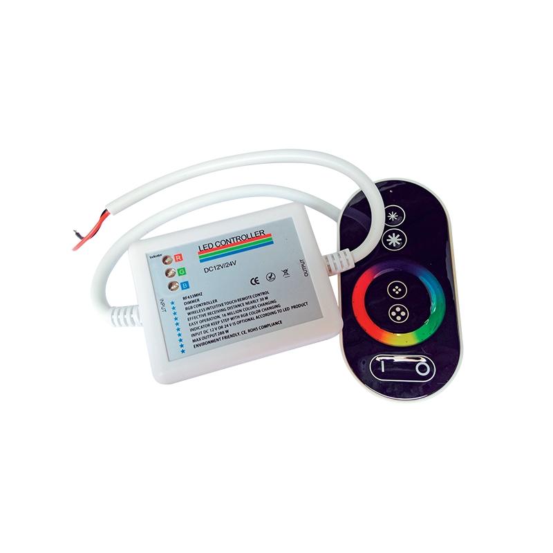 LEDRGB touch RF CR CONTROLLER 12V 18A FOR LED STRIP