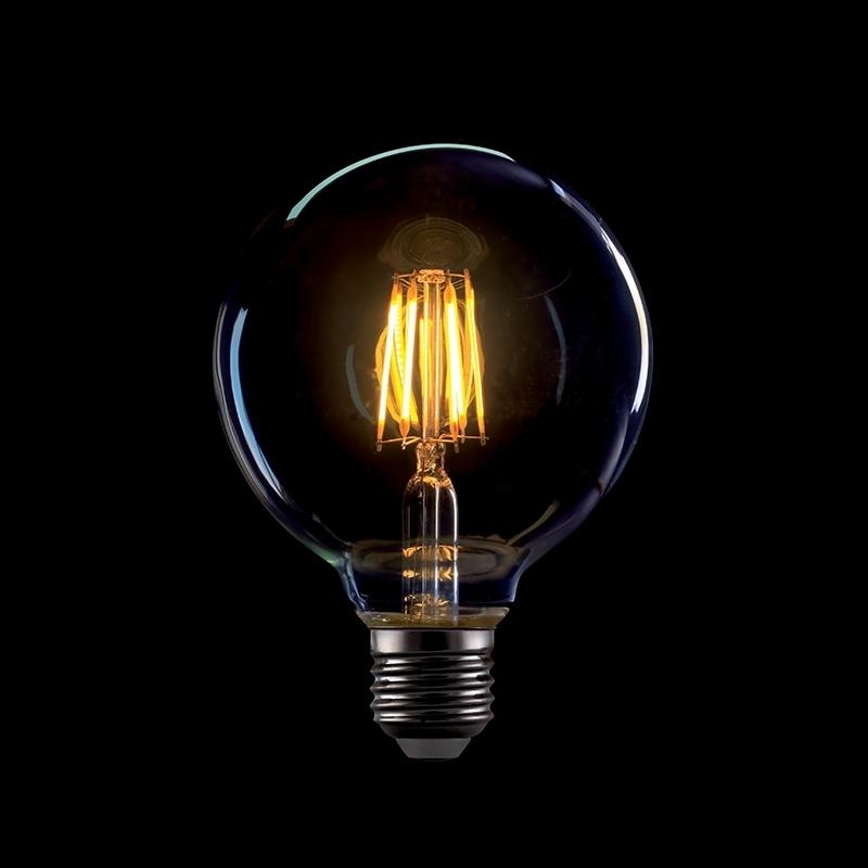 ΛΑΜΠΑ LED FILAMENT 8W E27 VINTAGE G95