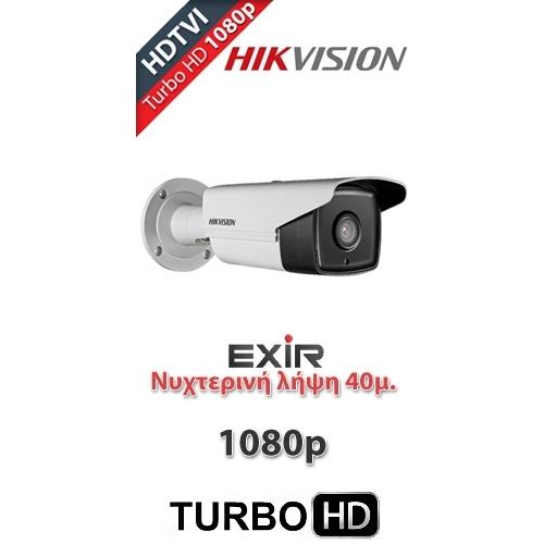 Κάμερα HIKVISION Bullet HDTVI 1080p EXIR DS-2CE16D0T-IT3 3.6