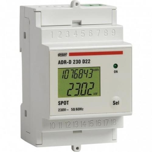 ΑΝΑΛΥΤΗΣ 1Φ ΔΙΚΤΥΟΥ ΜΕ LCD ΟΘΟΝΗ ADR-D 230D22A SPOT