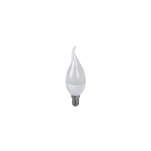 ΛΑΜΠTHΡΑΣ LED FLAME 6W E14 230V WHITE