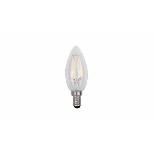 ΛΑΜΠTHΡΑΣ LED CANDLE C35 FILAMENT 4W E14 230V 2700K WARM WHITE ΜΑΤ