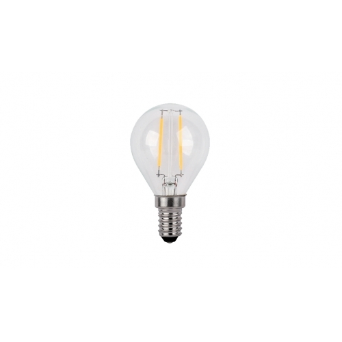 ΛΑΜΠTHΡΑΣ LED GLOBE G45 FILAMENT 4W E14 230V 2700K WARM WHITE