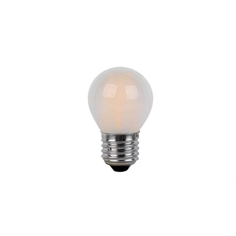 ΛΑΜΠTHΡΑΣ LED GLOBE G45 FILAMENT 4W E27 230V 2700K WARM WHITE