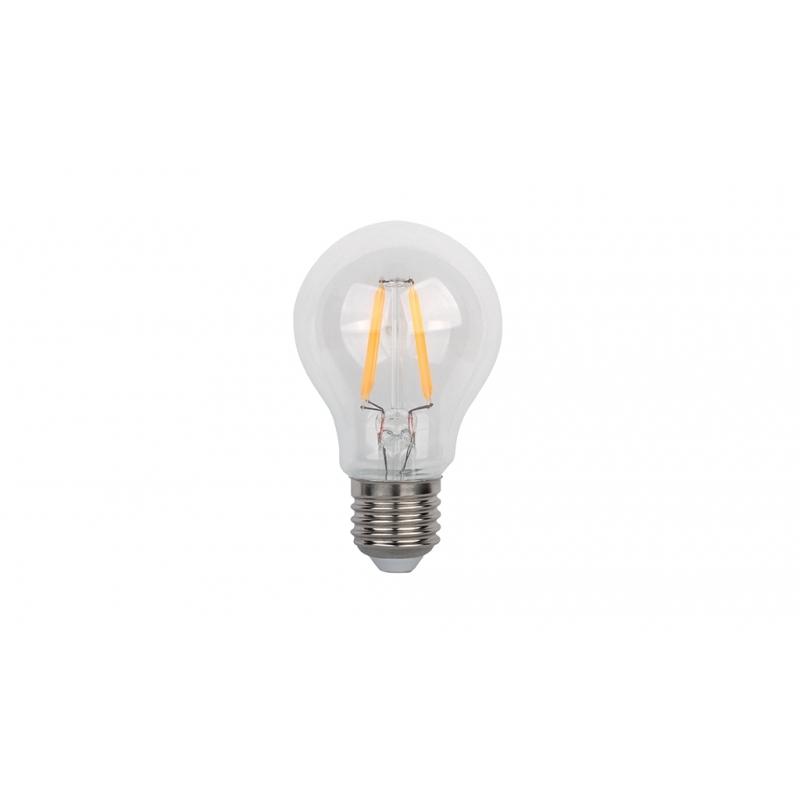 ΛΑΜΠTHΡΑΣ LED A60 FILAMENT 4W E27 230V 2700K WARM WHITE