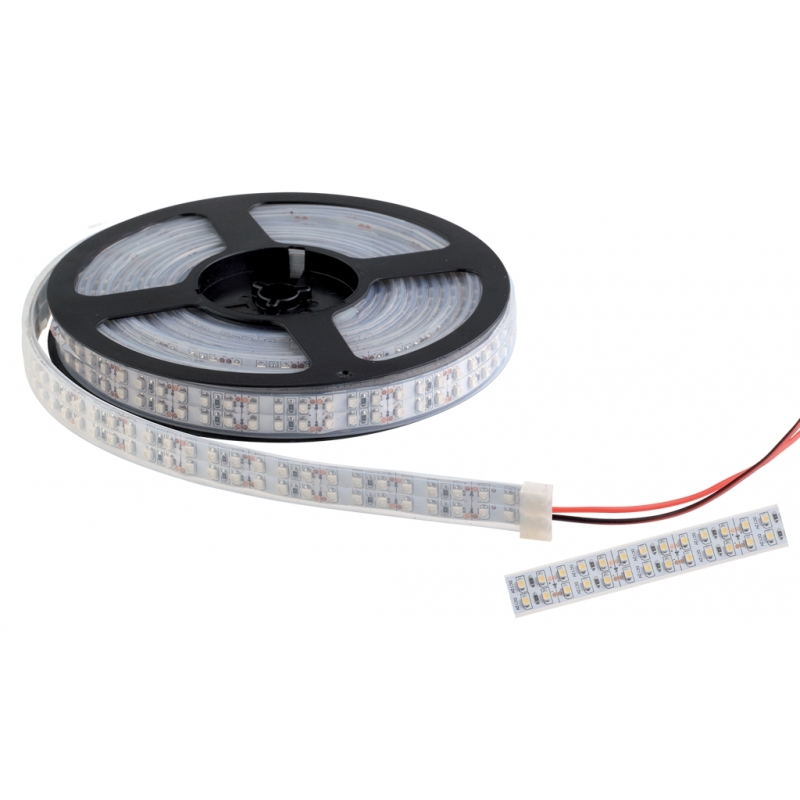 TAINIA LED 20W 12V/DC IP65 2X120pcs/1m COLD WHITE