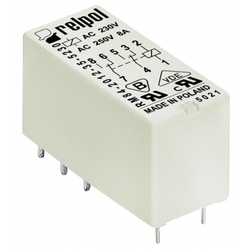 ΜΙΚ/ΡΕΛΕ PCB 2Ρ LCA002 / RM84 48V DC